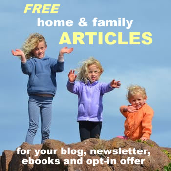 FREE Home and Family Articles | Free Pre-Written Blog Posts With